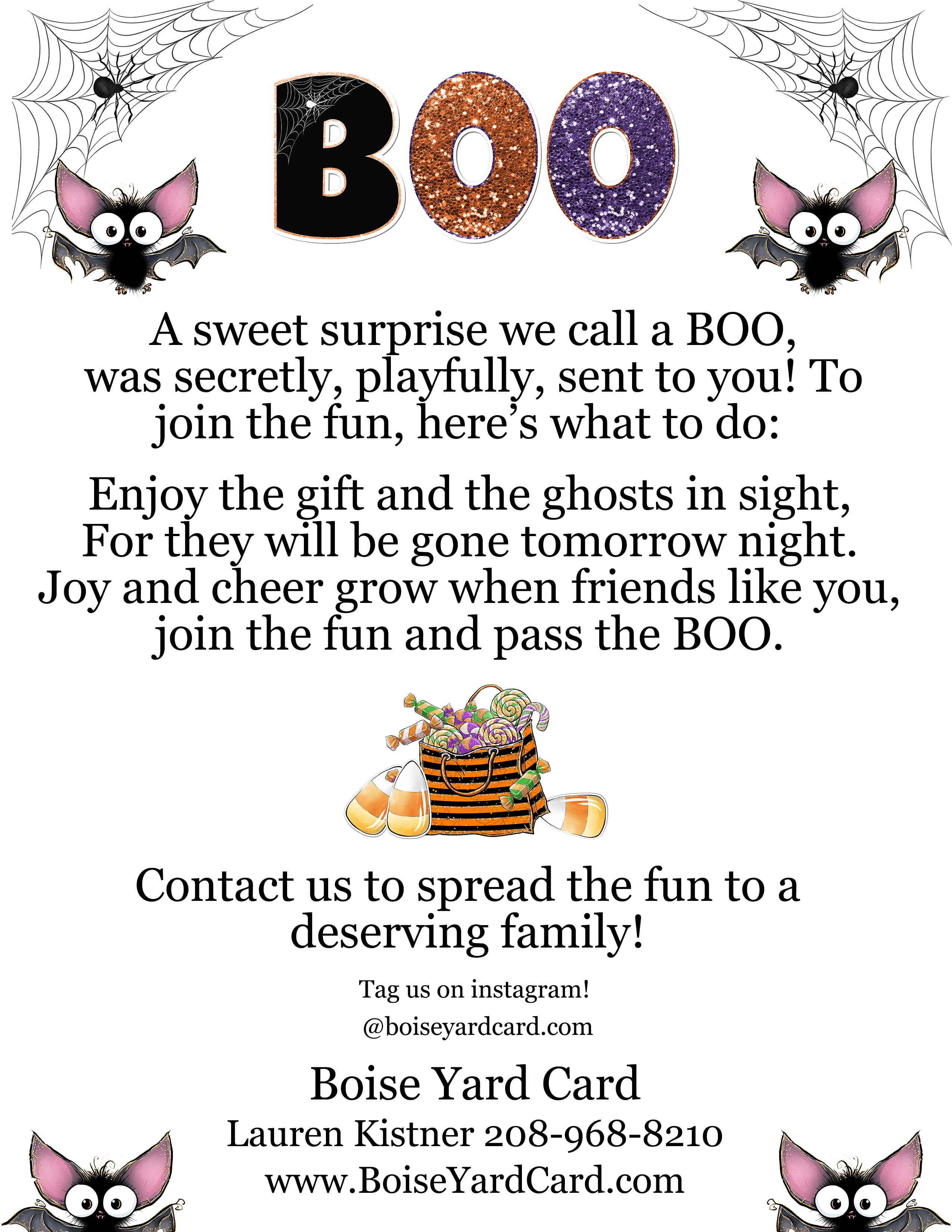 BOO Promotion